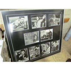 LARGE ELVIS PRESLEY FRAMED PICTURES - MULTIPLE