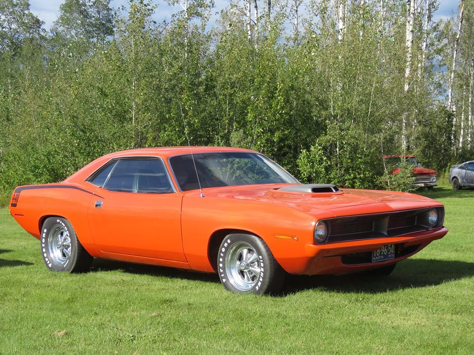 1970 Plymouth Barracuda Grand Coupe 440 Shaker