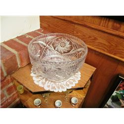 WATERFORD CRYSTAL LARGE BOWL