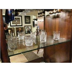 WATERFORD CRYSTAL 4 GLASSES