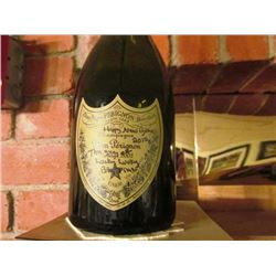 2 BOTTLES OF DOM PERIGNON 2012 HAPPY NEW YEAR EMPTY
