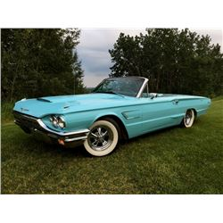 FRIDAY NIGHT! 1965 FORD THUNDERBIRD RETRACTABLE CONVERTIBLE