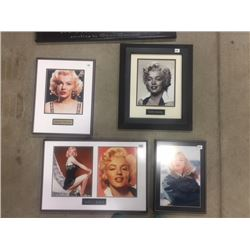 MARILYNN MONROE FRAMED PICTURE COLLECTION