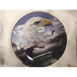 COLLECTOR EAGLE PLATE