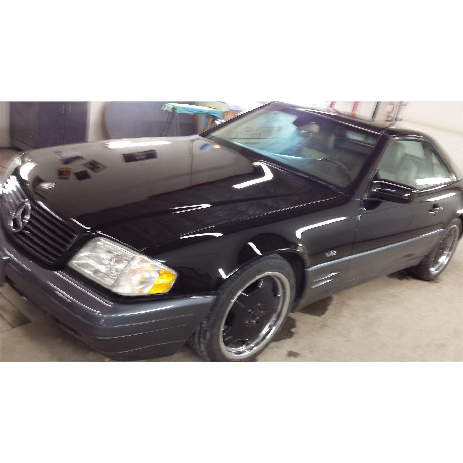 1997 MERCEDES BENZ SL 600 CONVERTIBLE - The Electric Garage