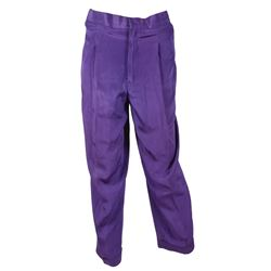 Prince's Personally-Owned and -Worn Pair of Purple Pants