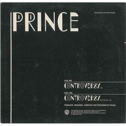 Prince 'Controversy' Single Promo Album