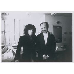 Prince and His Father Original Vintage Photograph