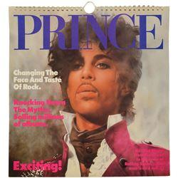 Prince Calendar and Ephemera