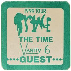 Prince Pair of 1999 Tour Passes