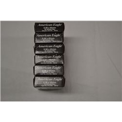 120 ROUNDS AMERICAN EAGLE 5.56 X 45 55 GR FMJ
