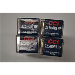 400 ROUNDS CCI 22 SHORT HP 27 GRAIN