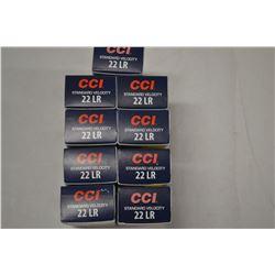 450 ROUNDS CCI STANDARD VELOCITY 22LR 40 GRAIN