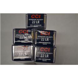 500 CCI STANDARD VELOCITY 22 LR 40 GRAIN