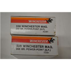 35 ROUNDS WINCHESTER SUPER X TER MAG 200 GRAIN SP