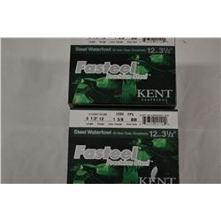 "50 ROUNDS KENT WATERFOUL 12GA 3/12"" BB SHOT"