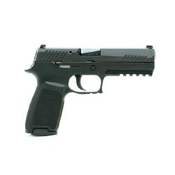 SIG SAUER P320 9MM SEMI-AUTO *THIS IS A RESTRICTED FIREARM*