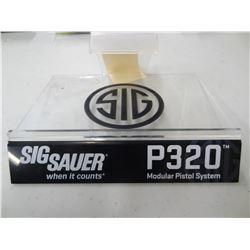 SIG SAUER P320 DISPLAY STAND