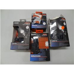 ASSORTED iPROTEC WEAPON LIGHTS