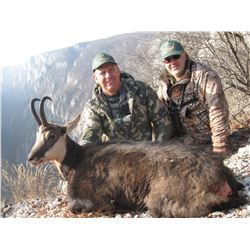 Carpathian or Balkan CHAMOIS HUNT in SERBIA for 2 Hunters