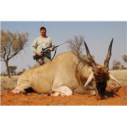 6 DAY AFRICAN SPIRAL HORN SAFARI FOR 2 HUNTERS