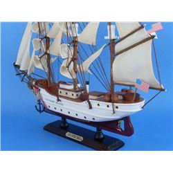 Wooden United States Coast Guard USCG Eagle Model Ship 15''