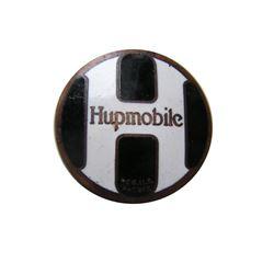 1927 Model A Hupmobile Car Badge Radiator Emblem