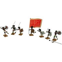 Marlborough Toy Soldiers, Sudanese Warriors