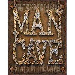 Man Cave Decorative Metal Sign