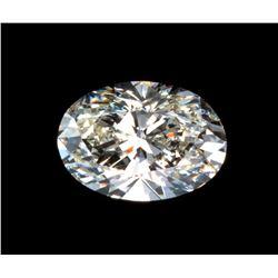 5 carat Oval Brilliant Cut BIANCO® Diamond