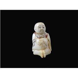Mid 19thc Hand-carved Netsuke Figure