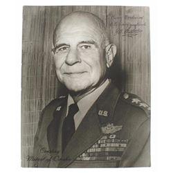 James H. Doolittle autographed photo