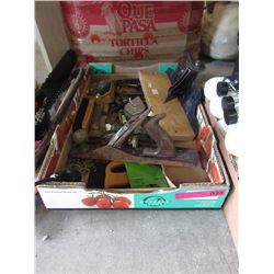 Bin of Vintage Tools