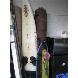 Sail Board with Multi Sails