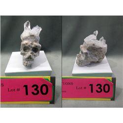 85 Gram Artisan Carved Skull