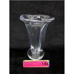 Signed 1930s Simon Gate Art Glass Vase