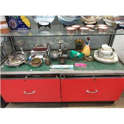 Shelf Lot of Vintage & Mid-Century Items
