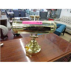 Brass Banker's Lamp