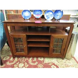 Entertainment Cabinet with Shelves & Doors