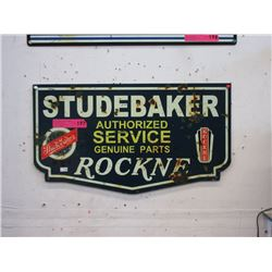 New Metal Studebaker Sign with Vintage Image