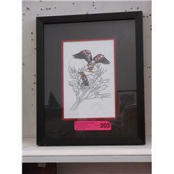 """Richard Shorty Framed Print """"Spirit of the Eagle"""""""