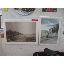 2 Limited Edition Unframed Prints