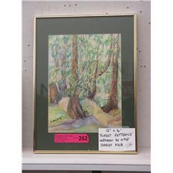 Signed Shirley Kolb Watercolour