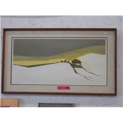 1991 Signed Peter Parnell Print