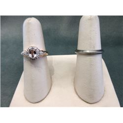 2 Estate Rings set with Diamonds
