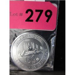 1 Ounce 2017Canada .9999 Silver Coin