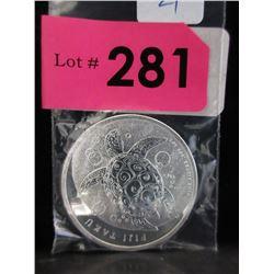 1 Ounce 2012 Fiji Taku .999 Silver Coin