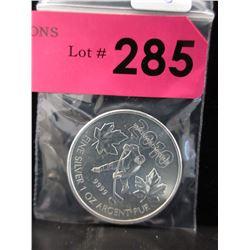 1 Oz. Canada .9999 Silver Coin