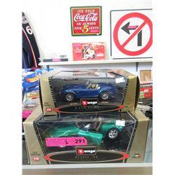 2 Scale Model Die-Cast Cars