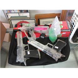 Air Soft Guns with BBs